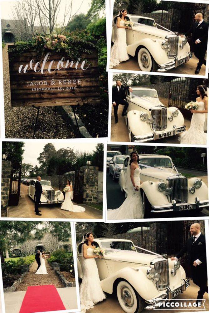 Wedding Cars Yarra Valley – Renee & Jacob