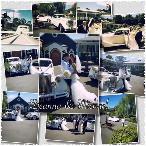 Wedding Car Hire Eltham – Deanna & Michael