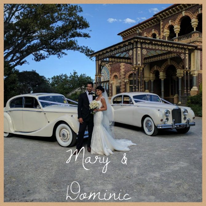 Elsternwick Wedding Car Hire – Mary & Dominic