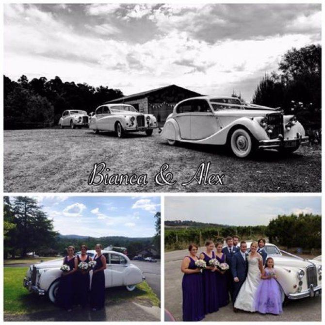 Coldstream Wedding Car Hire – Bianca & Alex