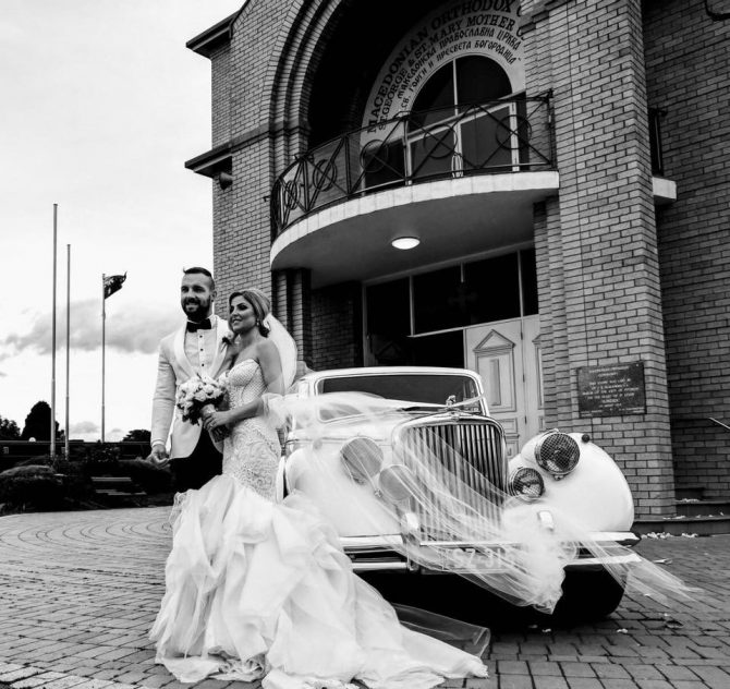 Epping Wedding Car Hire – Classic Cars for Jessica and Tony's Classic Wedding!