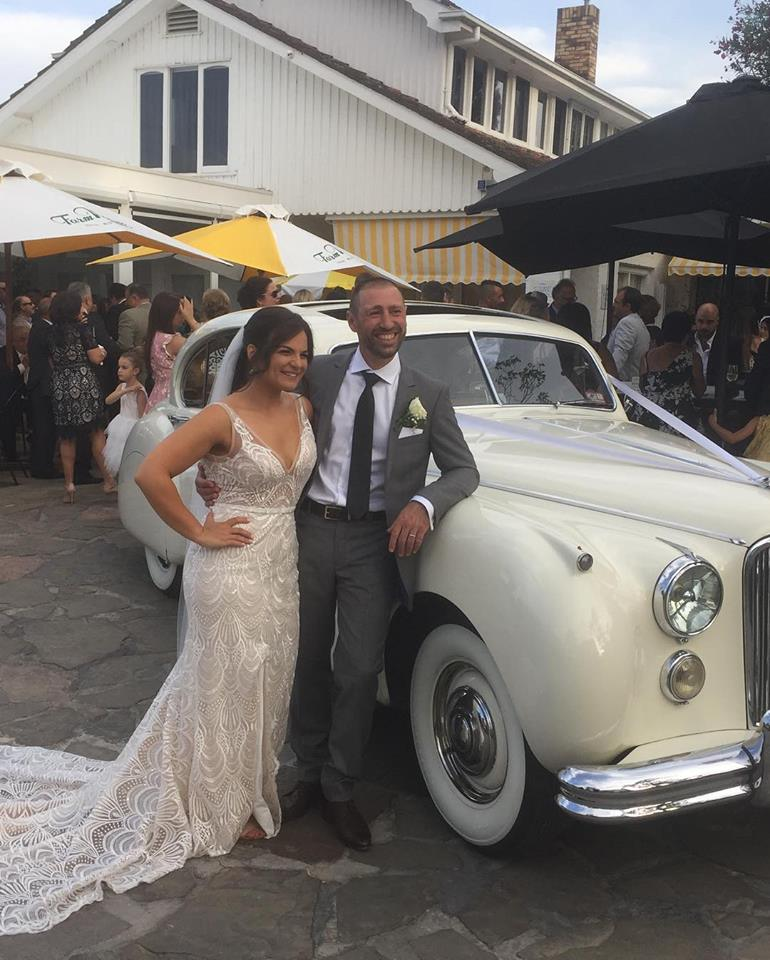 Chauffeured Jaguar Wedding Car Hire Melbourne